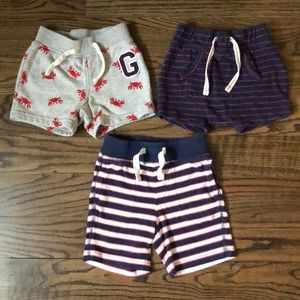 GAP Bundle of Three Boy Shorts